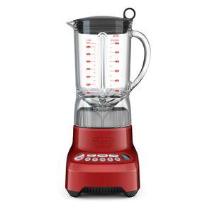 Liquidificador Tramontina By Breville Smart Gourmet 1100W 1,5 Litros com 7 Funções Vermelho 220V
