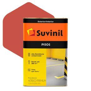 Tinta Acrílica Suvinil Piso Premium 18 Litros Cerâmica Fosco