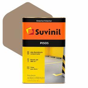 Tinta Acrílica Suvinil Piso Premium 18 Litros Concreto Fosco