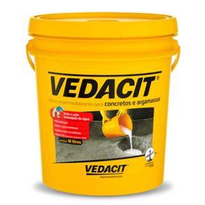 Aditivo Impermeabilizante Para Concretos E Argamassas Vedacit 18 Litros
