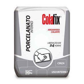 Argamassa Porcelanato Interno Colafix Cinza 20 Kg