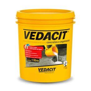 Aditivo Impermeabilizante para Concretos e Argamassas Vedacit 1 Litro