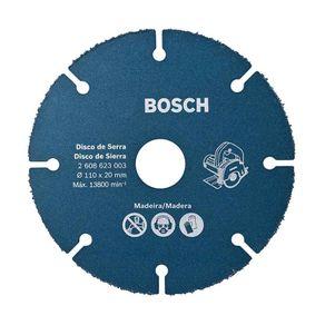 Disco de Corte para Serra Mármore Bosch Especial para Madeira 110mm