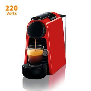 Cafeteira Expresso Nespresso Essenza Mini D30 Ultracompacta 0,6 Litros Vermelha 220V