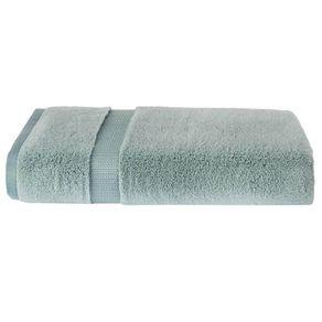 Toalha de Banho Trussardi Doppia 77 x 140cm Algodão Penteado Azul Claro