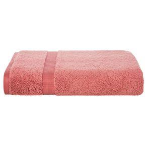 Toalha de Rosto Trussardi Doppia 48 x 90cm Algodão Penteado Coral