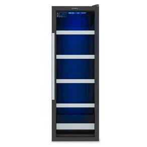 Cervejeira Venax Blue Light 200 Litros Controle Digital -6 a 0ºC e Porta de Vidro Preta 220V