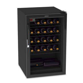 Adega Climatizada Venax NGV 100 82 Litros Controlador Digital 6 a 20ºC para 24 Garrafas Preto 220V