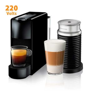 Cafeteira Expresso Nespresso Combo Essenza Mini com Aeroccino Ultracompacta Preta 220V