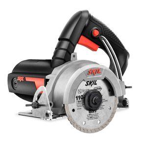 Serra Mármore a Seco Skil 9815 1200W Disco 110mm e Corte até 34mm 220V