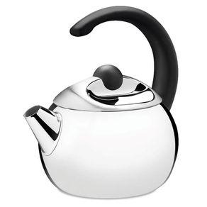 Chaleira Tramontina Coffee & Tea 2,2 litros em Aço Inox e Cabo Preto