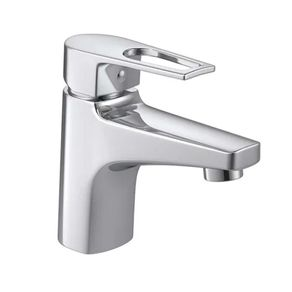 Torneira Misturador Monocomando de Mesa para Banheiro Deca Level Mix Bica Baixa em Metal Cromado