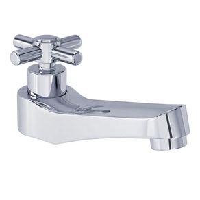 Torneira de Mesa para Banheiro Deca Izy 1197.C37 Bica Baixa Fixa em Metal Cromado